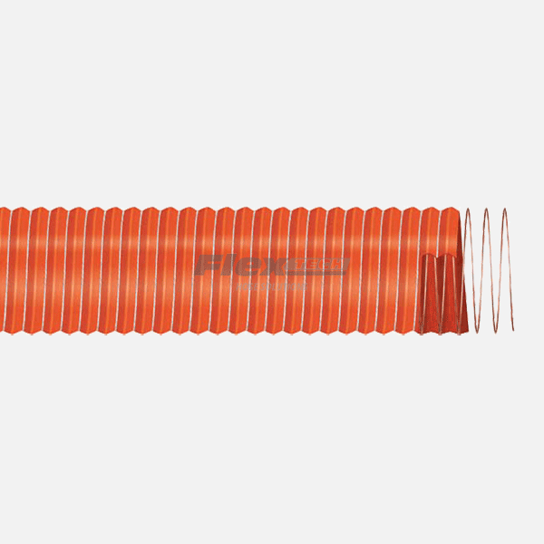 T3150A | Unlined Silicone High Temperature Ducting