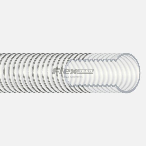 T6401 | Convoluted Virgin PTFE Vacuum Hose