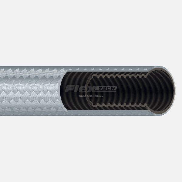 T6430 | Carbon Black PTFE Hose for Food