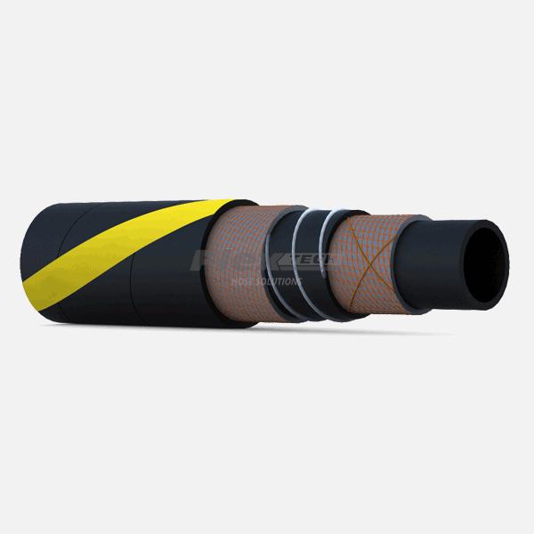 T5630 | PetroFlon Rubber Bitumen Hose Assemblies